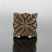 Metal Cabinet Knob in Antique Brass Finish