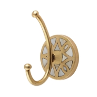 Golden Brass Wall Hook