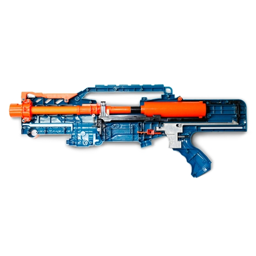 nerf zombie strike longshot fully modded w unleashed solid stage 1