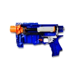 Nerf Retaliator Fully Modded w/Unleashed Solid Stage 1 & 2 Kits