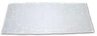 (CP-995) White Polyethylene X-Large Adult Cremation Pouch