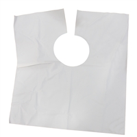 Disposable Plastic Cosmetic Bib