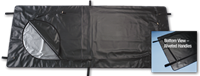 (EmP-330) Heavy Duty Black Flap Over Emergency Pouch