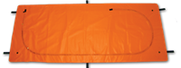 (EmP-335) Heavy Duty Orange Bio-Hazard Emergency Pouch