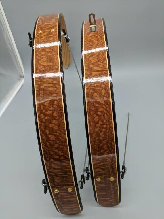 ajaton muotoilu kohtuullinen hinta koko 7 Ready to ship- Leopard wood with Wenge edges