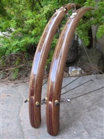 wood bike fender, ccf-118