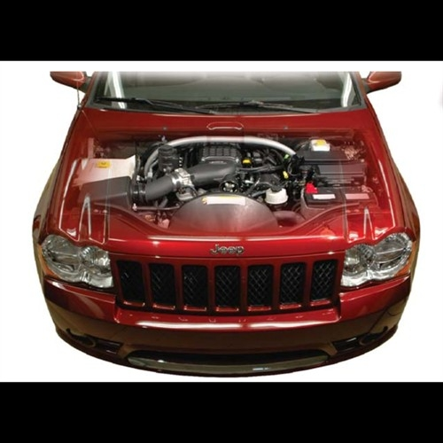 Jeep Supercharger Kits: MagnaCharger TVS2300 Complete Supercharger Kit, Black 2006