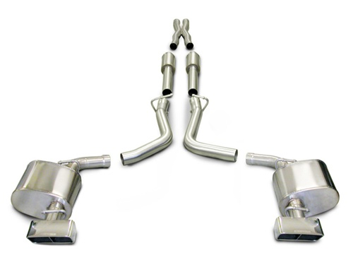 CORSA Performance XTREME Catback Exhaust System (2009-2010 5 7L Dodge  Challenger RT 6-Speed) - 14437