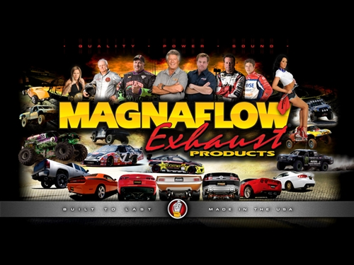 MagnaFlow 15137 Large Stainless Steel Performance Exhaust System Kit Replacement Parts Complete Kits