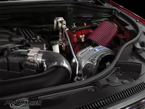 ProCharger HO Intercooled Supercharger (Complete Kit) (2012-2017* 6 4L Jeep  Grand Cherokee (WK2) SRT) - 1DL214-SCI