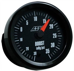 AEM Boost Gauge w/ Analog Face