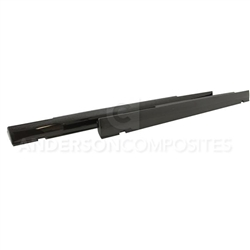 Anderson Composites OEM-style Carbon Fiber Side Skirts for 2008-2014 Challenger - AC-SS0910DGCH-OE