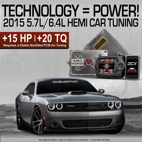 Diablosport 2015-2019 Modified PCM & Tuner Package