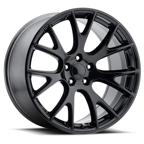 Factory Reproductions Hellcat Replica Wheels Gloss Black