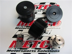 Metco Hellcat Supercharger Pulley Kit (2015 Challenger & Charger Hellcat) -