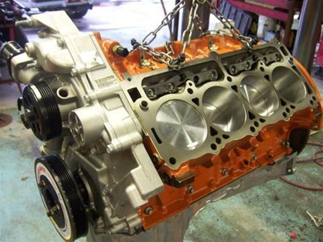 HHP/BES (6 1 Based) 440 7 2L HEMI Stroker Short Block Engine HHP44061SB