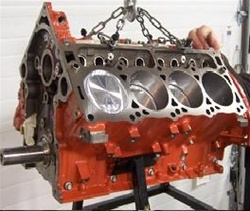 HHP/BES 345ci (5.7L) Forged Rotating HEMI Short Block Engine HHP57FSB
