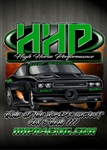 High Horse Performance Branded T-Shirt -  HHP Rob Goss Green, Short Sleeve Tee Shirt - 1604
