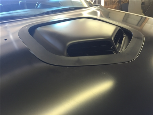 afr drop in shaker with underhood cover for mopar aluminum hood