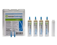 Advion Cockroach Gel Bait - 4 Tubes