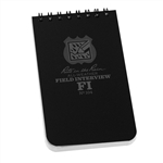 "Rite in the Rain 104 All-Weather Field Interview Notebook, 3""x 5"""