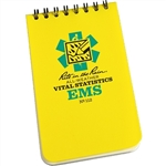 RITR 112 All-Weather EMS Vital Stats Notebook