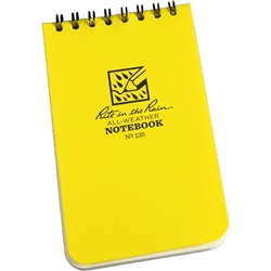 RITR 135 All-Weather Universal Spiral Notebook, Yellow