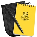 RITR 135B-Kit All-Weather Universal Spiral Notebook Kit, Yellow/Black