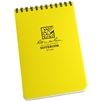 RITR 146 All-Weather Universal Spiral Notebook, Yellow
