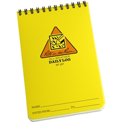 Rite in the Rain 157 All-Weather Daily Log Notebook