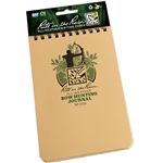 Rite in the Rain 1722 All-Weather Bow Hunting Journal, Tan