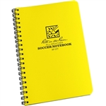 "Rite in the Rain 177 All-Weather Soccer Notebook, Yellow, 4 5/8"" x 7"""