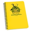"Rite in the Rain 195 All-Weather Birder's Journal, Yellow, 4 5/8"" x 7"""
