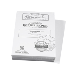 "Rite in the Rain 208511 All-Weather Copier Paper, White, 8.5"" x 11"" - 500 Sheets"