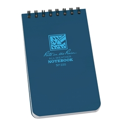 "Rite in the Rain 235 All-Weather Universal Notebook, Blue, 3"" x 5"""