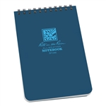 RITR 246 All-Weather Universal Spiral Notebook, Blue