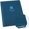 "Rite in the Rain 270F-LG All-Weather Fabrikoid Universal Book, Blue, 6"" x 8"""