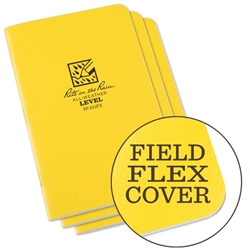 Rite in the Rain 311FX All-Weather Stapled Notebook, Level - 3 pack