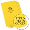 Rite in the Rain 351FX All-Weather Stapled Notebook, Field - 3 pack
