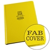 "Rite in the Rain 370F-LG All-Weather Fabrikoid Universal Book, Yellow, 6"" x 8"""