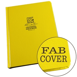 RITR 370F-LG All-Weather Universal Bound Book, Yellow