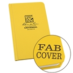 RITR 370F-M All-Weather Universal Bound Book, Yellow