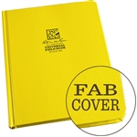 "Rite in the Rain 370F-MX All-Weather Fabrikoid Universal Book, Yellow, 8.5"" x 11"""