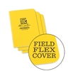 RITR 371FX-M All-Weather Universal Stapled Notebooks, Yellow