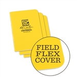 Rite in the Rain 371FX-M All-Weather Universal Stapled Notebooks, Yellow