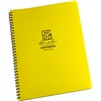 RITR 373-MX All-Weather Universal Spiral Notebook, Yellow