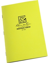 Rite in the Rain 381 All-Weather Metric Grid Tagboard Notebook,