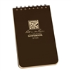 RITR 435 All-Weather Universal Spiral Notebook, Brown