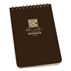 "Rite in the Rain 446 All-Weather Universal Notebook, Brown, 4"" x 6"""