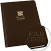 RITR 470F-LG All-Weather Universal Bound Book, Brown